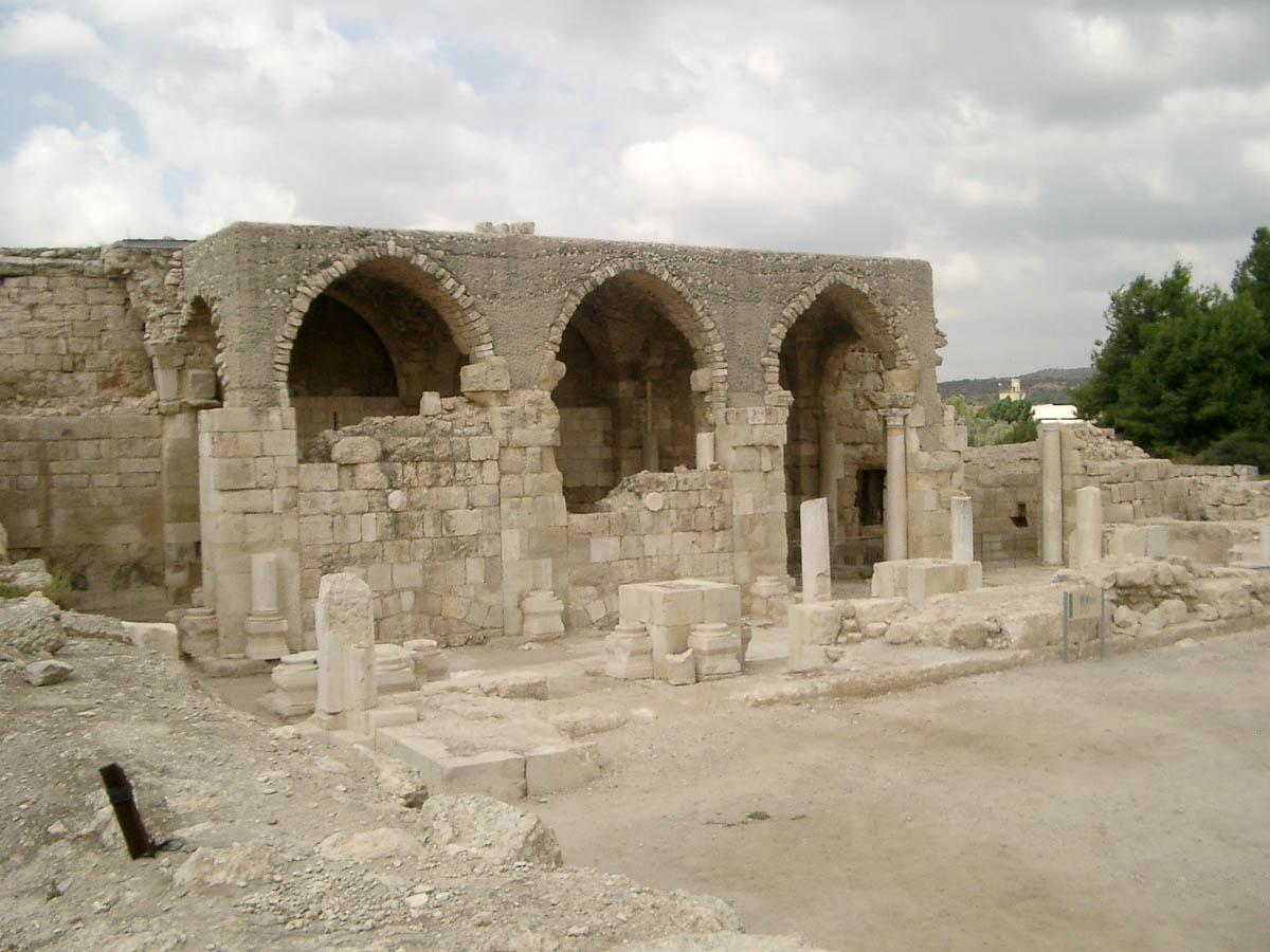 церковь крестоносцев в Бейт-Гуврине