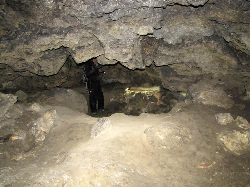 в пещере Степана Разина, Тольятти