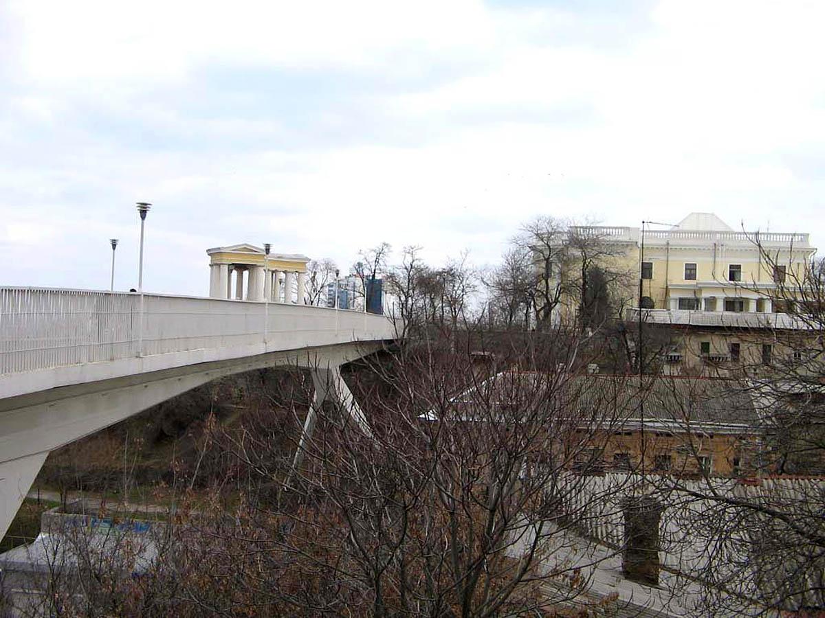 вид на Тещин мост