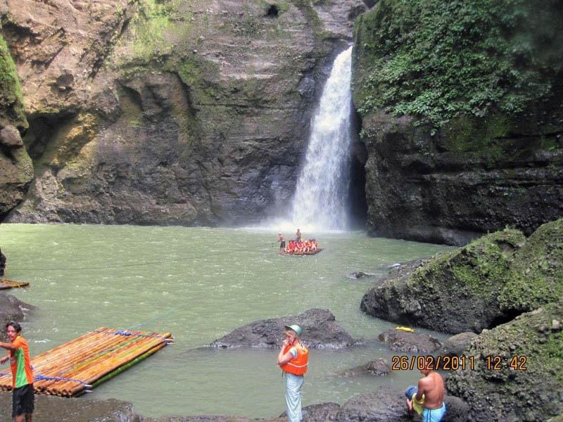 водопад Пагсаньян, Филиппинские острова