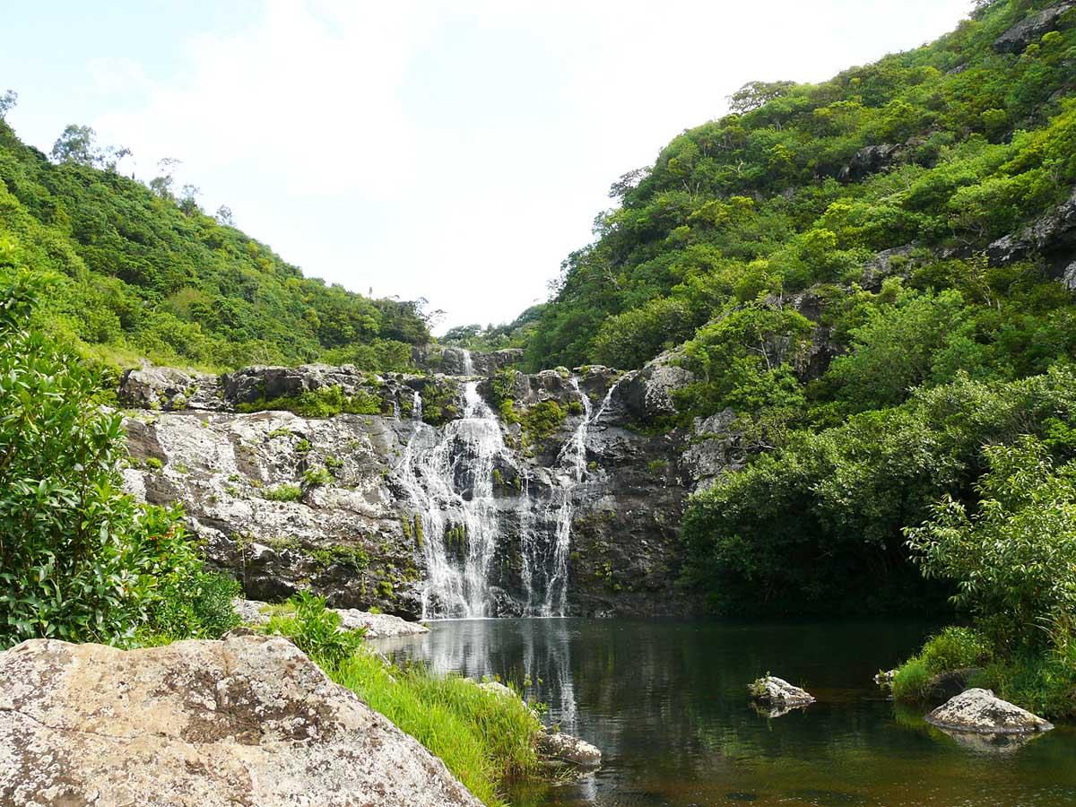 водопад Тамарин нижний