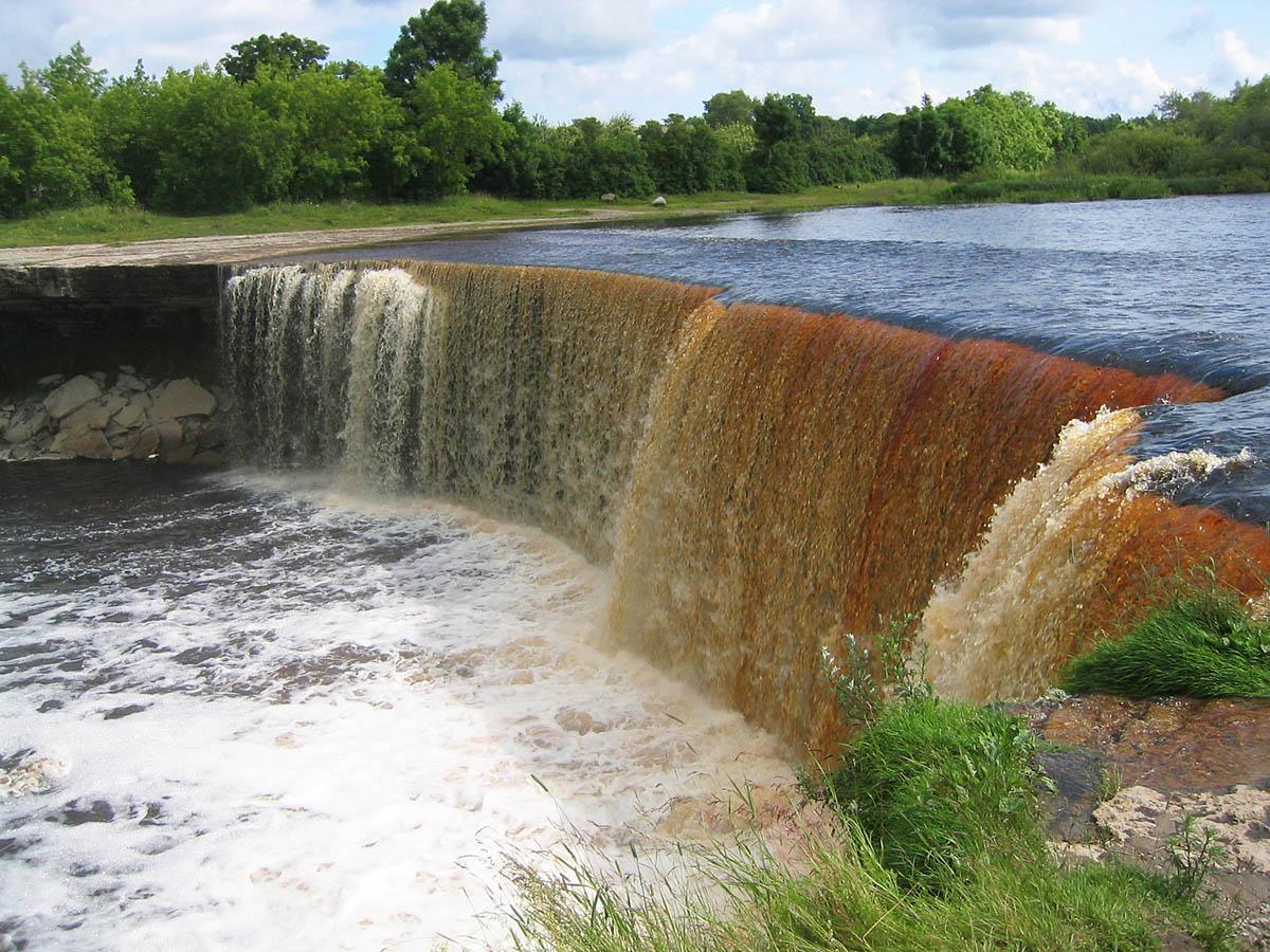 водопад Ягала, Эстония
