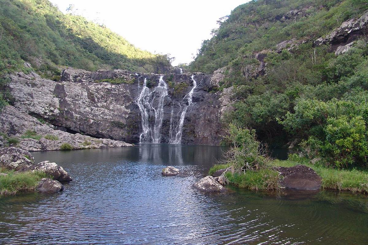 водопад нижний Тамарин