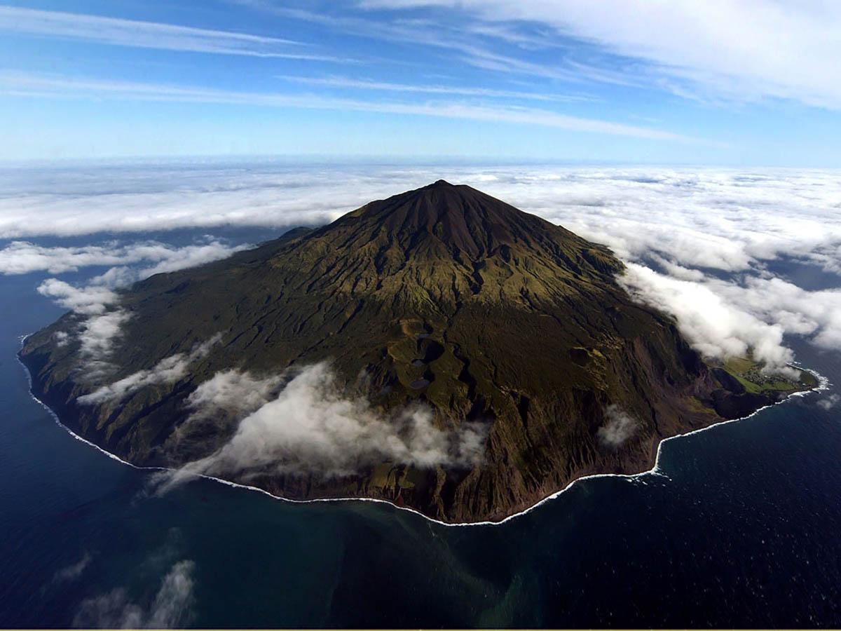 вулкан Тристан-да-Кунья