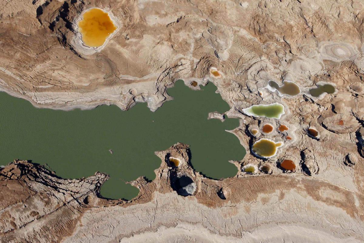 высыхание Мертвого моря