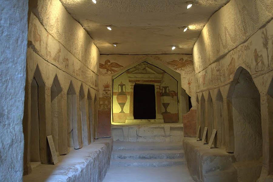 захоронения в Бейт-Гуврине