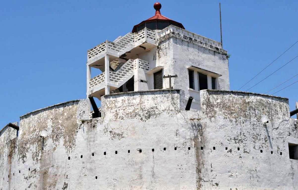 замок Эльмина в Гане