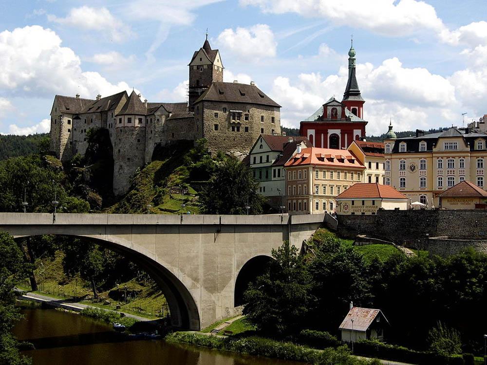 замок Локет, Карловы Вары, Чехия