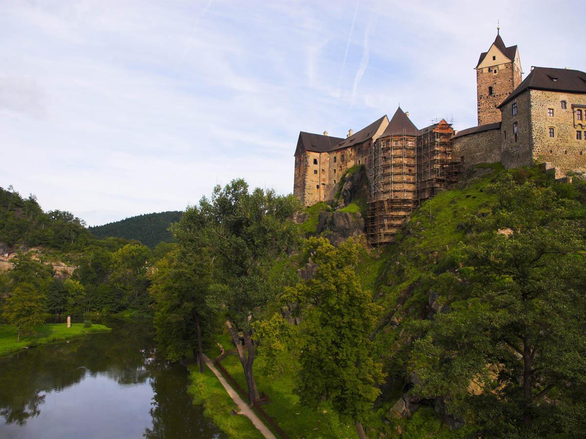 замок Локет в Карловых Варах