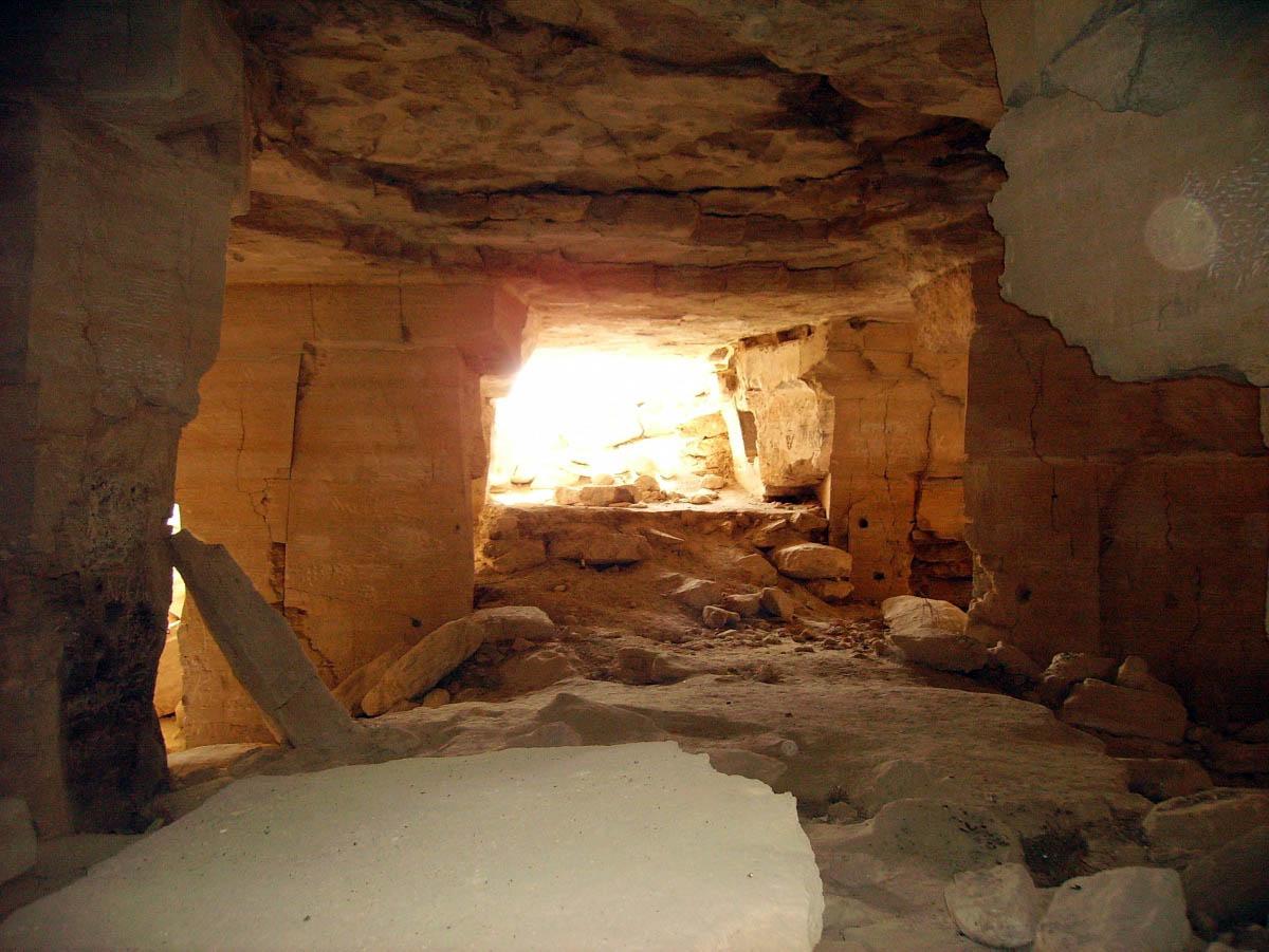 Ак-Монайские каменоломни, Щелкино, Крым
