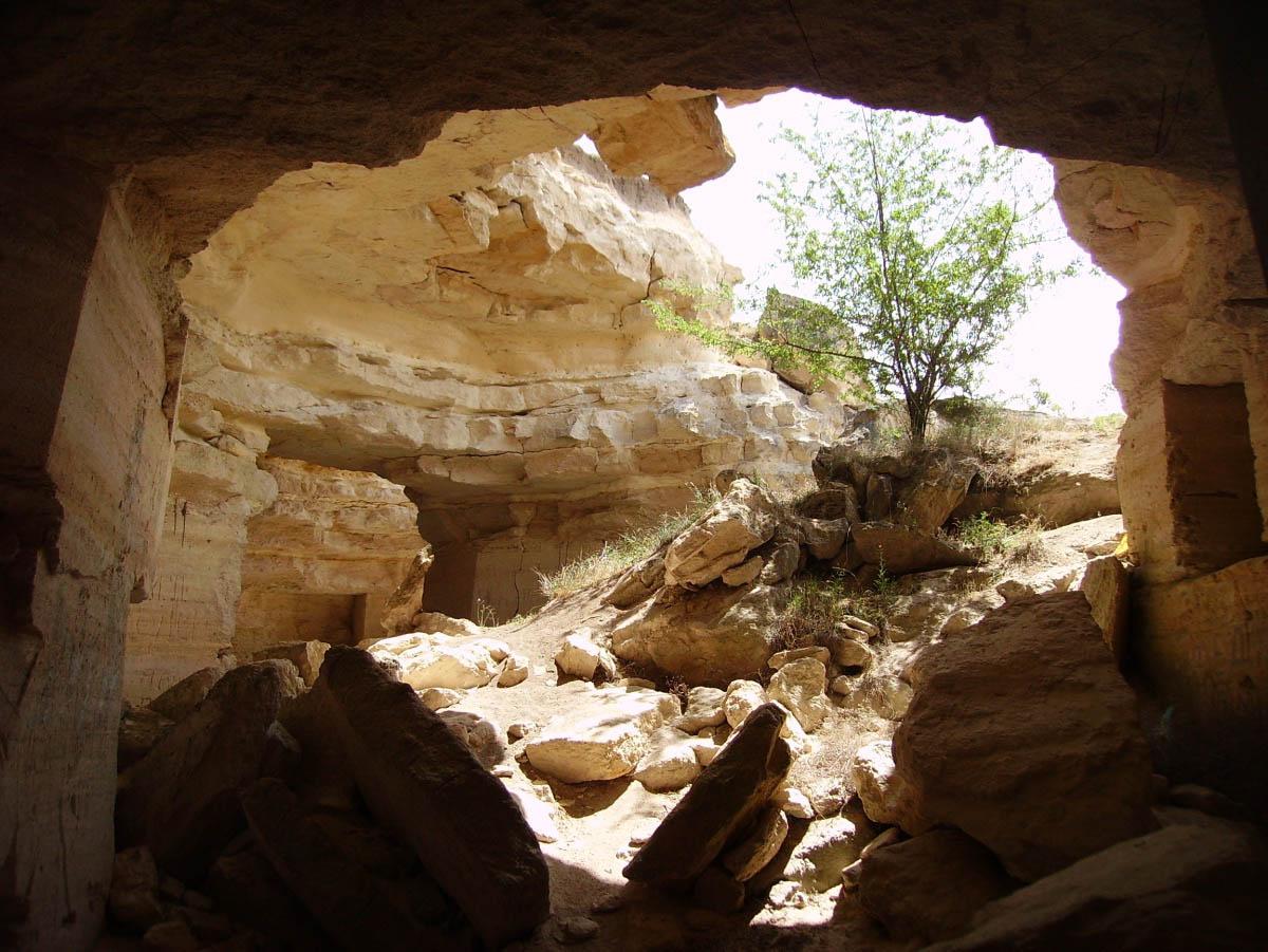 Ак-Монайские каменоломни в Крыму