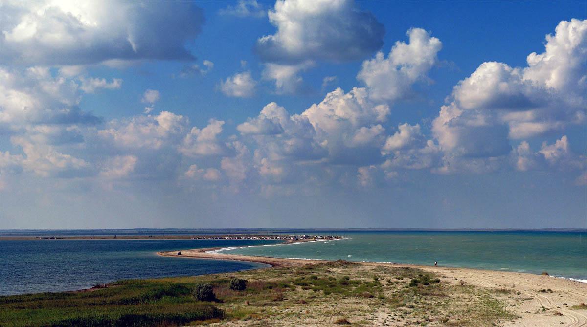 Бакальская коса, степной Крым