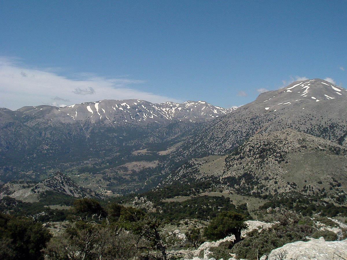 Dikti mountain, Crete, Greece
