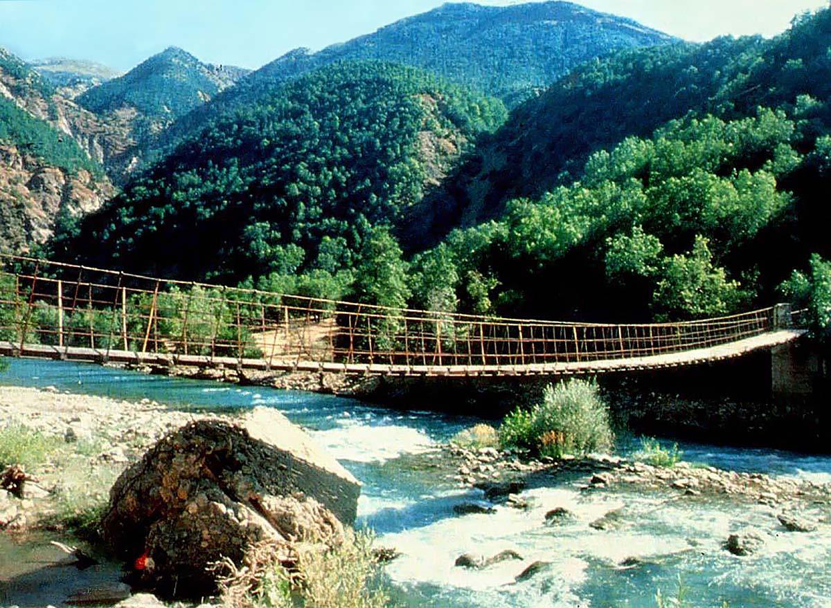 Долина Мунзур, Турция