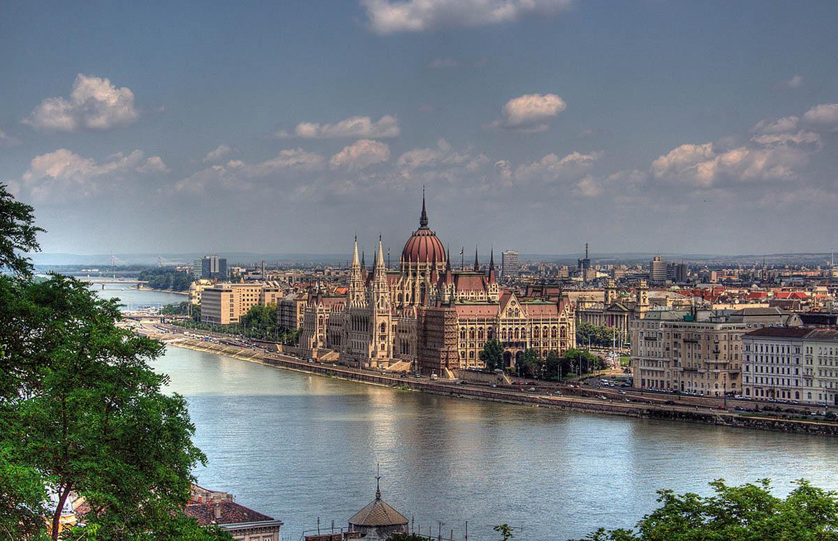 Дунай в Румынии