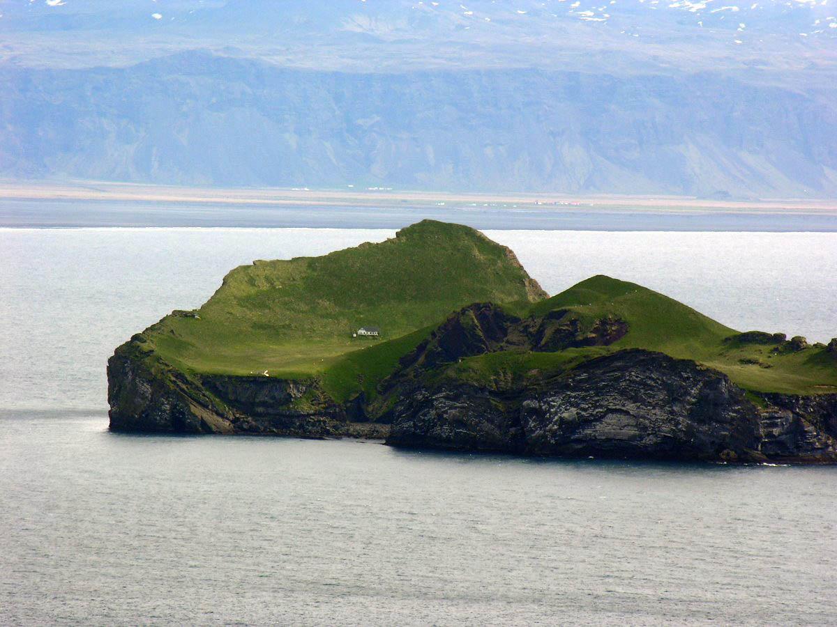 Ellidaey island, Iceland