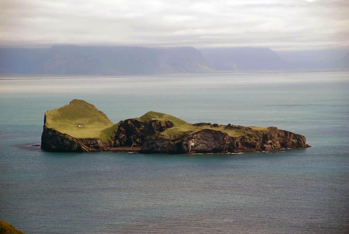Ellidaey island