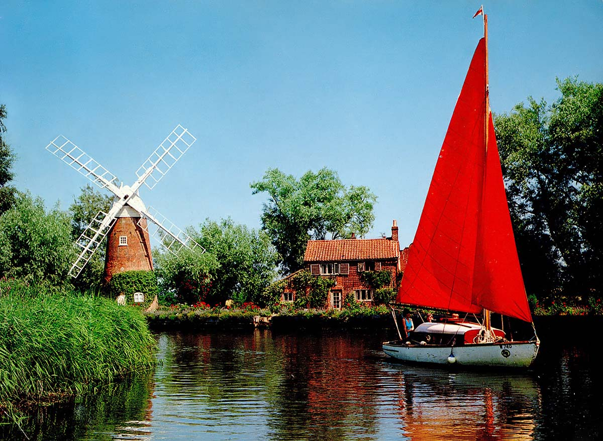 Hunsett Mill, Norfolk