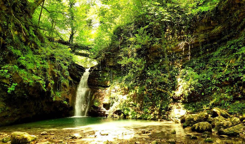 Ивановский водопад, Адлер, Сочи