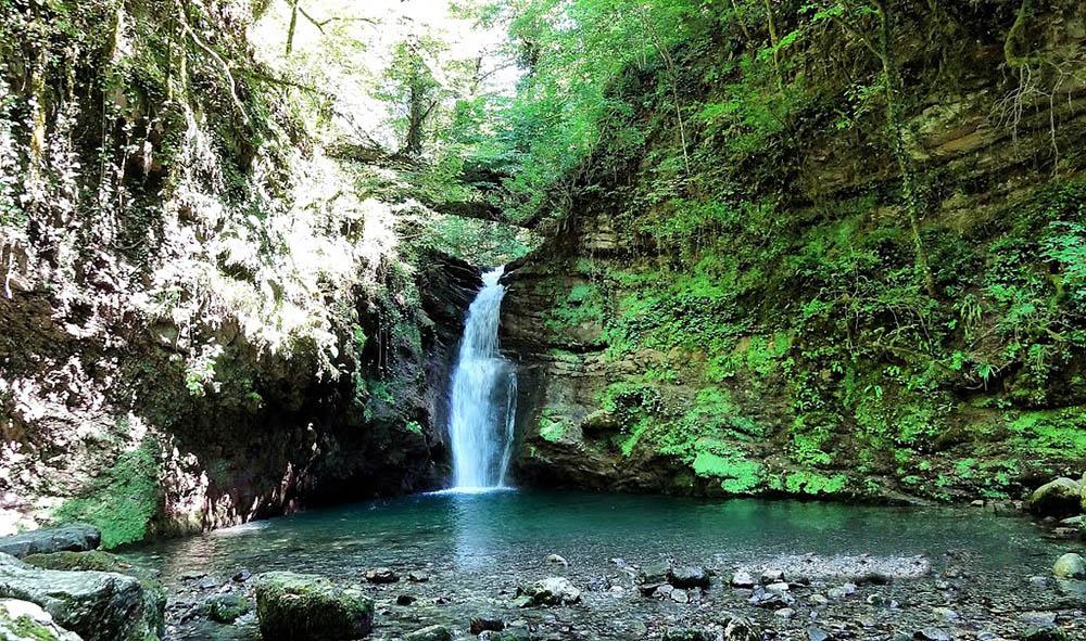 Ивановский водопад в Адлере, Сочи