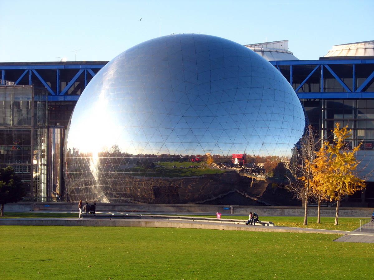 La geode de la Villette