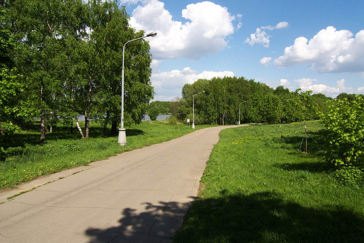 Москворецкий парк, Москва, Россия