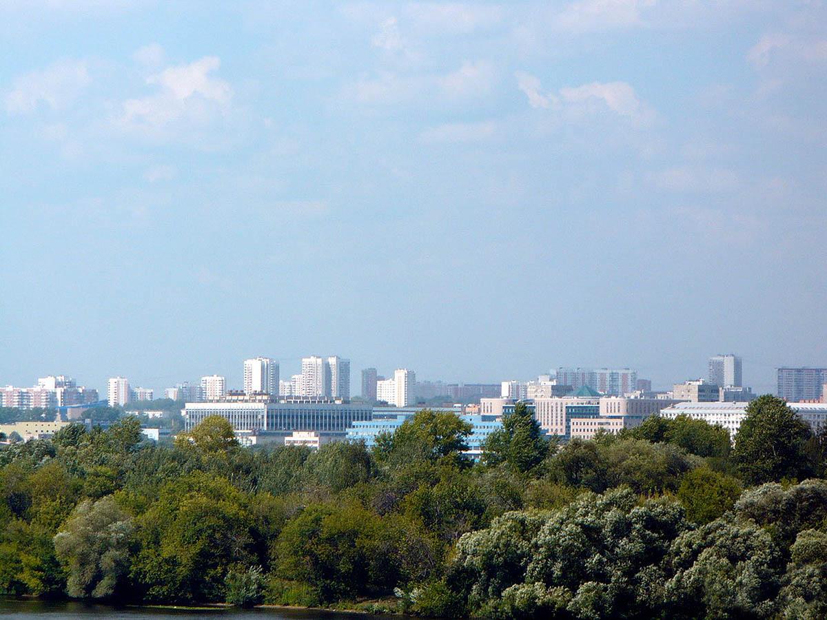 Москворецкий парк, Строгино, Москва, Россия