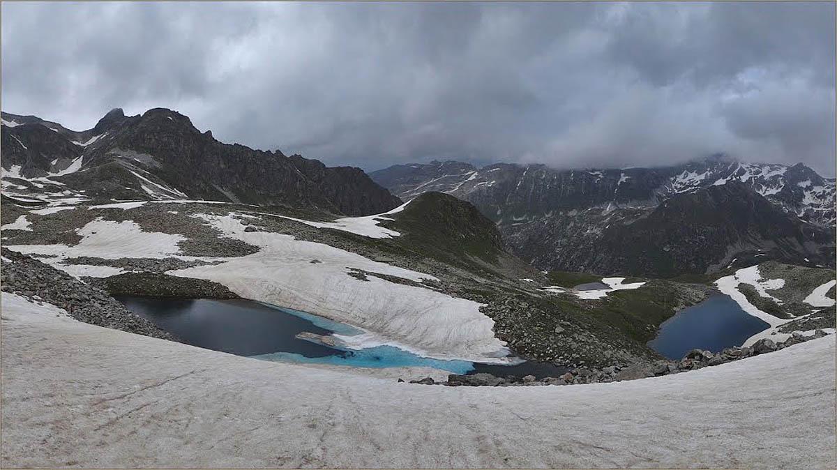 Муруджинские озера зимой