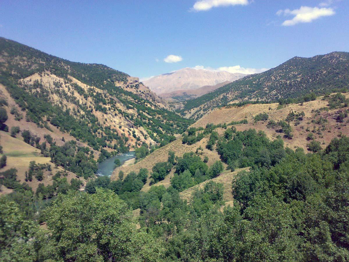 Национальный парк Долина Мунзур, Турция