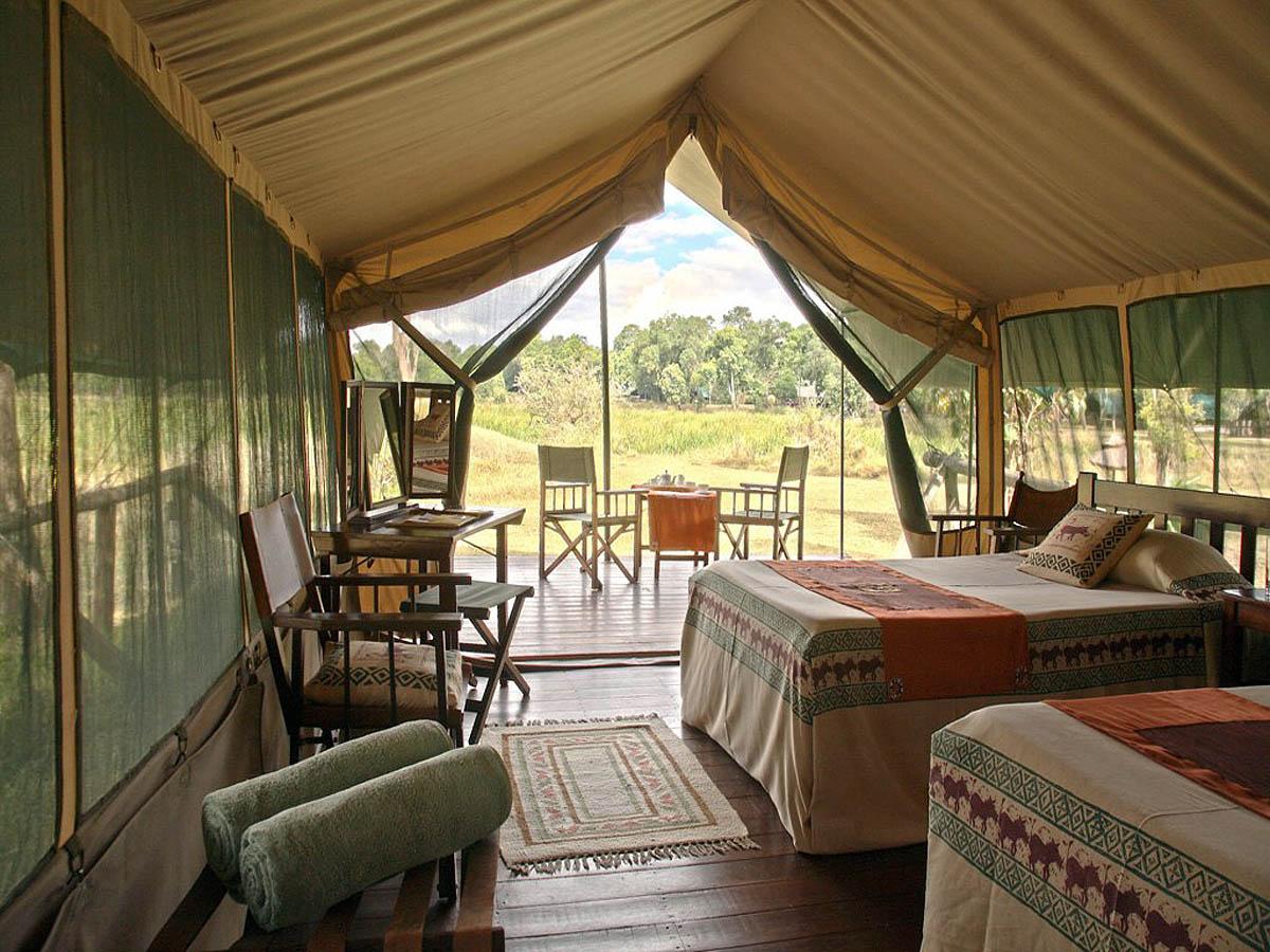 Olonana hotel, Masai Mara Reserve, Kenya