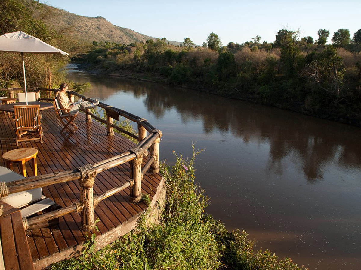 Olonana hotel, Masai Mara Reserve