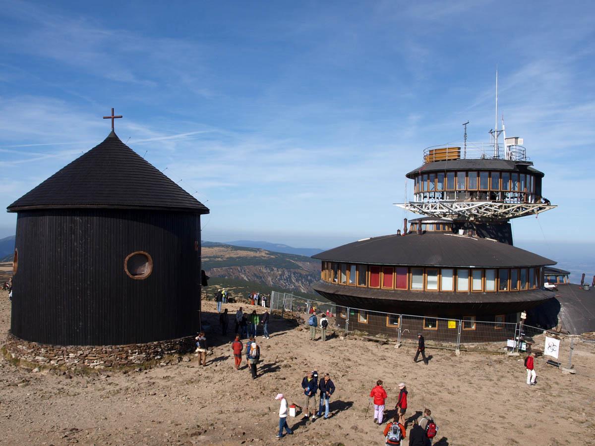 Польская обсерватория на горе Снежка