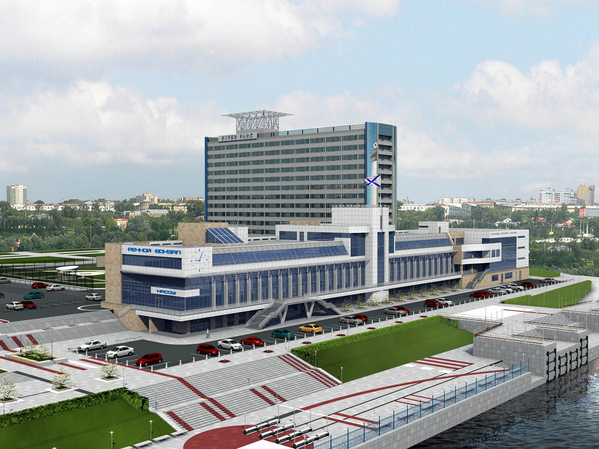 Речной вокзал Новосибирска