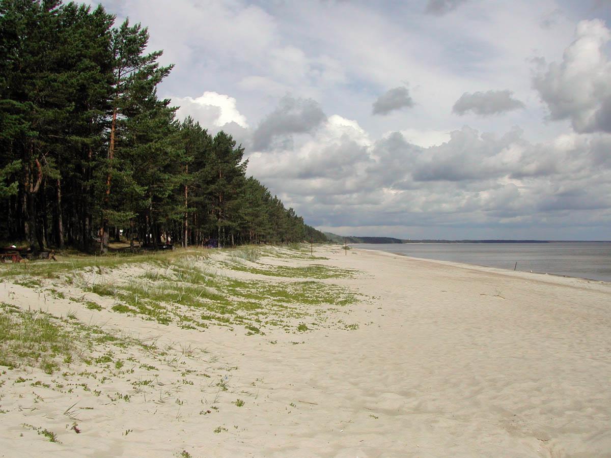 Рижский залив, Латвия