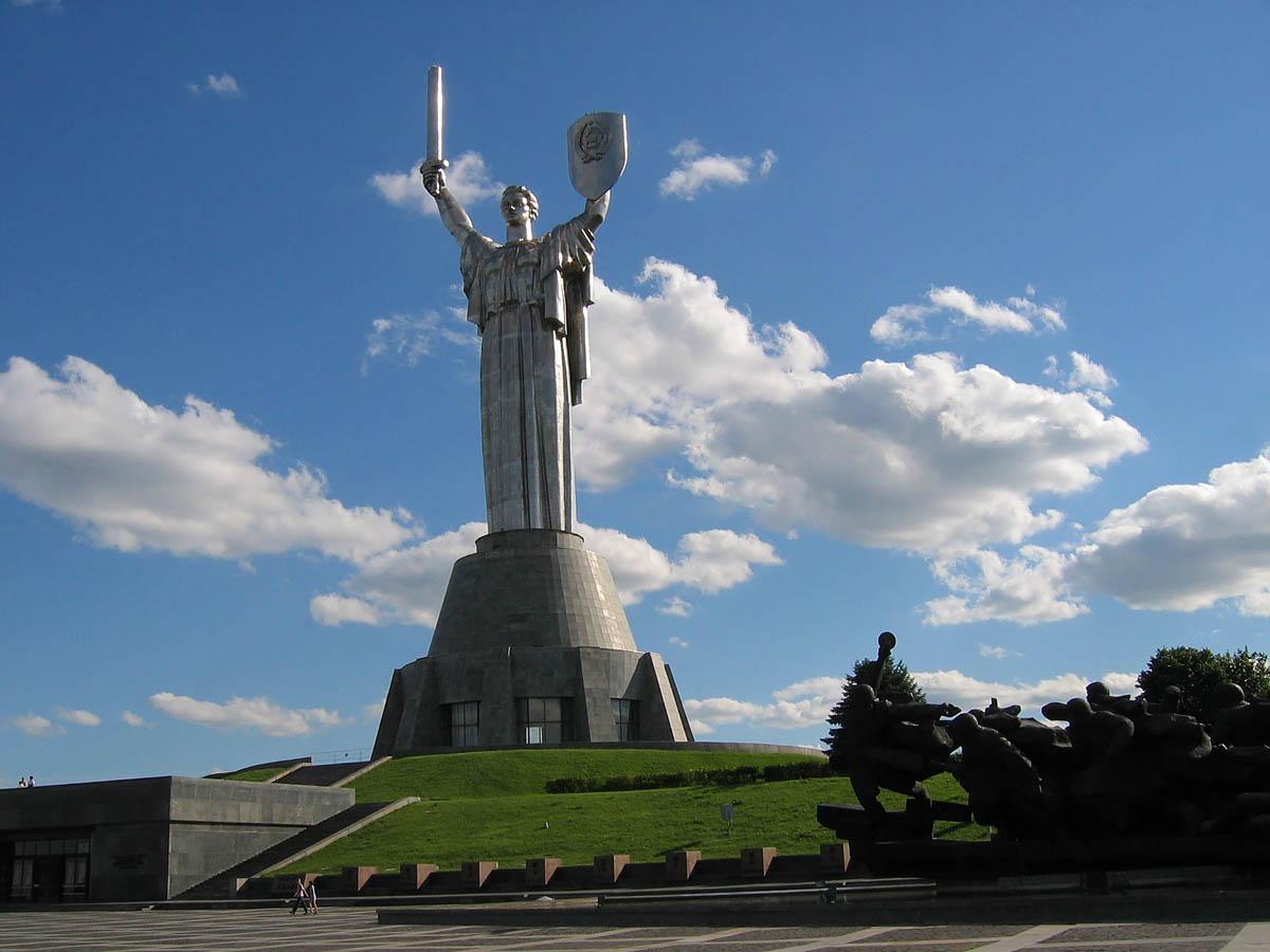 Родина-Мать, Киев, Украина