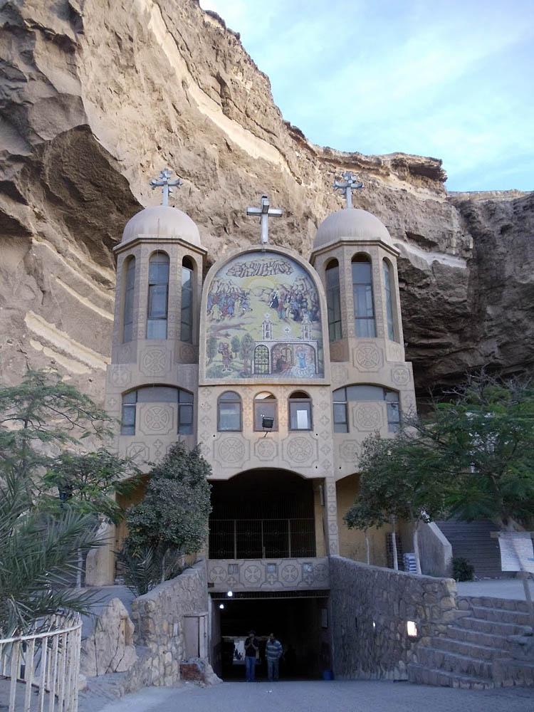 The Monastery of St. Simon the Tanner, Cairo, Egypt