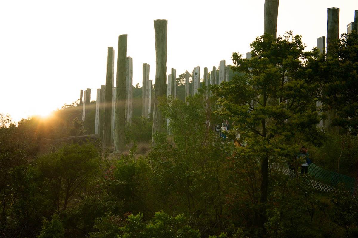 Тропа Мудрости, остров Лантау, Гонконг, Китай