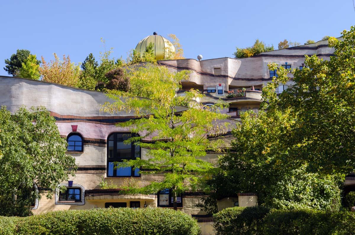 Waldspirale, Darmstadt, Friedensreich Hundertwasser