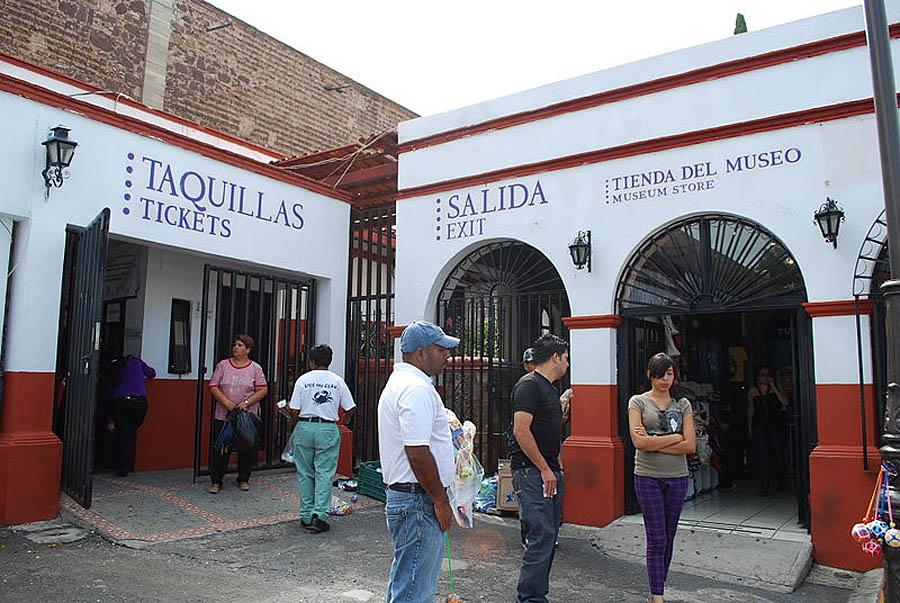 билетные кассы Музея мумий в Мексике