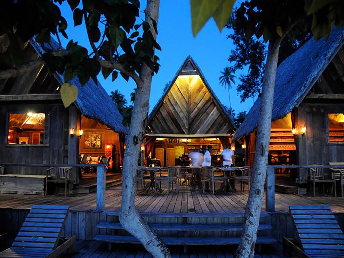 частный эко-курорт Ратуа, Вануату, Меланезия