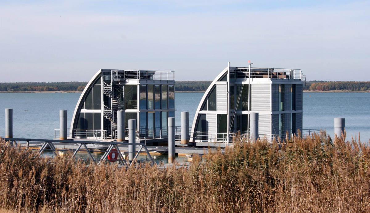 эко-гостиница Lausitz немецкой компании Steeltec 37