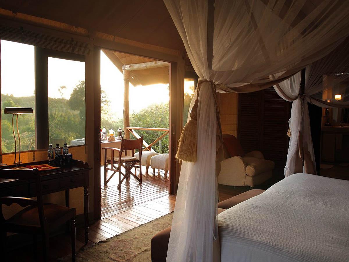 эко-гостиница Олонана, заповедник Масаи Мара, Кения