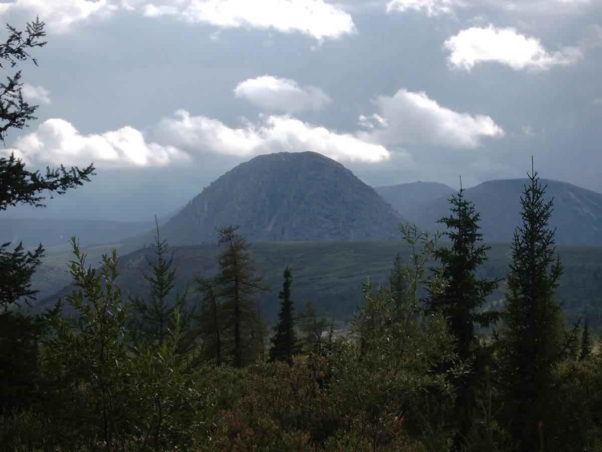 гора Еркусей, Урал