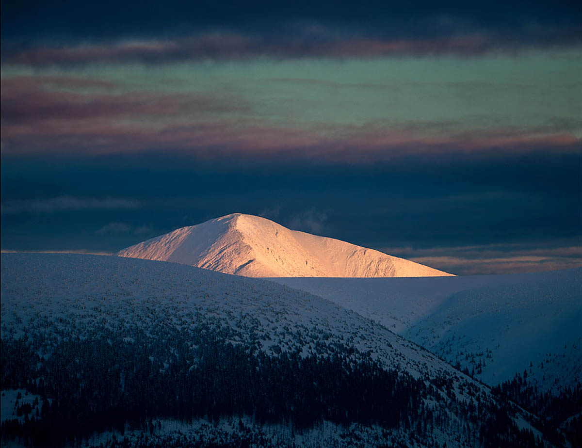 гора Снежка, хребет Крконоше, Чехия