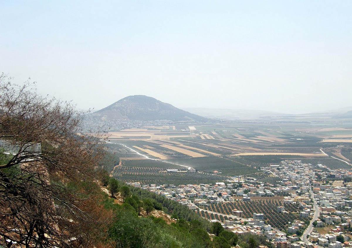 гора Тавор в Израиле