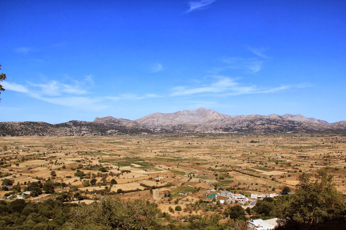 горы Дикти, Крит