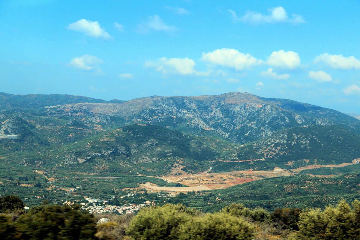 горы Дикти на Крите