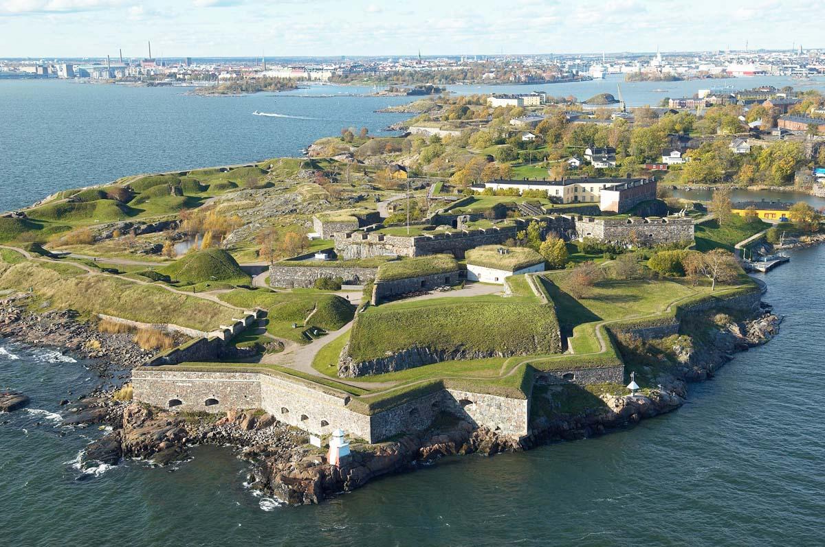крепость Суоменлинна, Хельсинки, Финляндия