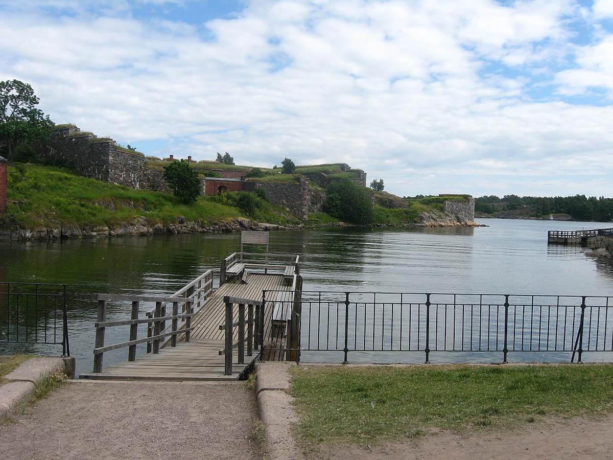 крепость Суоменлинна в Хельсинки, Финляндия
