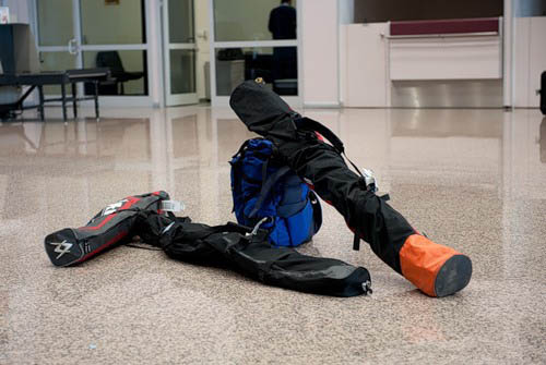 лыжи в багаже